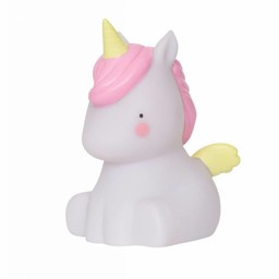 A Little Lovely Company A Little Lovely Company - Petite Veilleuse Licorne/Little Light Unicorn