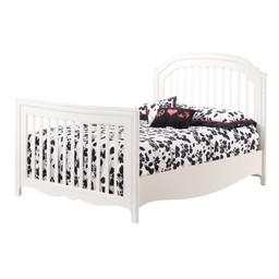 Natart Juvenile Natart Allegra - Tête de Lit Double/Double Bed Headbord, Blanc Français/French White