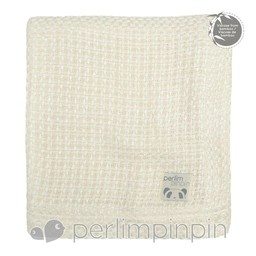 Perlimpinpin Perlimpinpin - Couverture Tricotée en Bambou/Bamboo Knitted Blanket