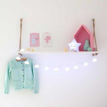 A Little Lovely Company A Little Lovely Company - Guirlande de Lumières Nuage/String Light Cloud