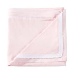Quickzip QuickZip - Dessus de Drap Contour en Coton avec Zip pour Lit de Bébé/Crib Zip-On Cotton Sheet, Rose/Pink