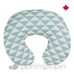 Perlimpinpin Perlimpinpin - Coussin d'Allaitement/Small Nursing Pillow, Triangles