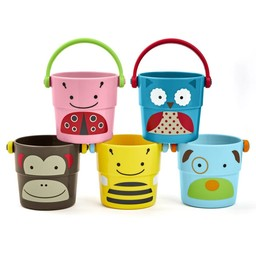 Skip Hop Skip Hop - Sceaux Animaux Stack And Poor/Zoo Stack And Poor Buckets