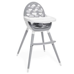 Skip Hop Skip Hop - Chaise Haute Convertible Tuo / TuoConvertible High Chair, Nuages Gris/Grey Clouds
