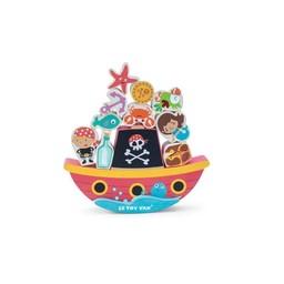 Le Toy Van Le Toy Van -  Jeu d'Éveil et d'Équilibre Pirates/Pirate Balance 'Rock'N' Stack'