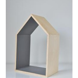Ma Petite Maison Ma Petite Maison - Petite Maison Décorative/Decorative Small House, Gris Foncé/Dark Grey