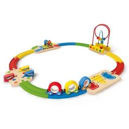 Hape Hape - Mon Premier Train Coloré et Sonore/Musical Rainbow Railway
