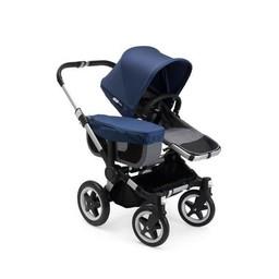 Bugaboo Bugaboo Donkey2 - Poussette Simple/Mono Stroller, Bleu Mélange/Sky Blue