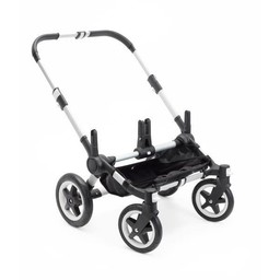 Bugaboo Bugaboo Donkey2 - Base pour Poussette/Base for Stroller, Aluminium et Noir/Aluminium and Black