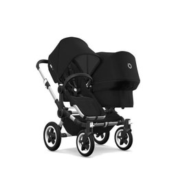 Bugaboo Bugaboo Donkey2 - Extension Duo Complète/Duo Extension Set Complete, Noir/Black