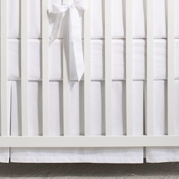 Bouton Jaune Bouton Jaune - Jupe de Lit/Bedskirt, Sur Un Nuage, Blanc/White