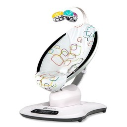 4moms 4moms - Siège pour Bébé MamaRoo 4.0/MamaRoo 4.0 Infant Seat, Tissu Multi/Multi Plush