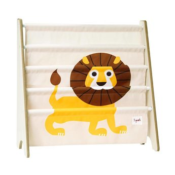 3 sprouts 3 Sprouts - Support à Livres/Book Rack/ Lion Jaune/Yellow Lion