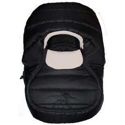 Sherpa Enveloppe pour Coquille Wigwam de Sherpa/Sherpa Wigwam Baby Car Shell, Noir-Beige/Black-Beige