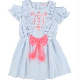 Billieblush BillieBlush - Robe Rose Boucle/Pink Loop Dress