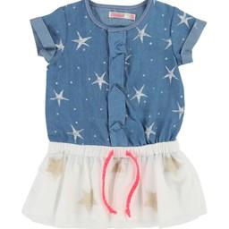 Billieblush BillieBlush - Robe Denim Bleu/Blue Denim Dress