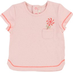 Billieblush BillieBlush - T-Shirt Rose Glacé/Ice Pink T-Shirt