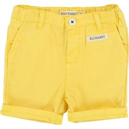 BillyBandit - Pantalon Court/Short, Jaune Doux/Soft Yellow