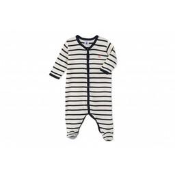 Petit Bateau Petit Bateau - Pyjama Metal/Metal Pajamas, Coquille Smoking