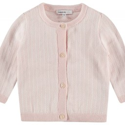Noppies Noppies - Cardigan Tricot Karby/Karby Knit Cardigan, Rose Pâle/Light Pink