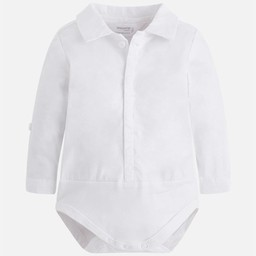 Mayoral Mayoral - Chemise Cache-Couches/Body Shirt, Blanc/White