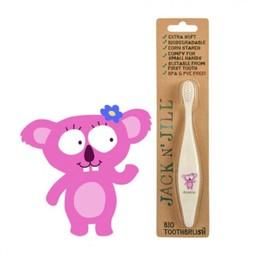 Jack&Jill Jack & Jill - Brosse à Dents Koala Biodégradable/Bio Toothbrush Koala Biodegradable
