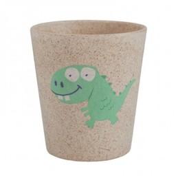 Jack&Jill Jack & Jill - Verre de Salle de Bain Biodégradable Dinosaure/Biodegradable Rinse Cup Dino