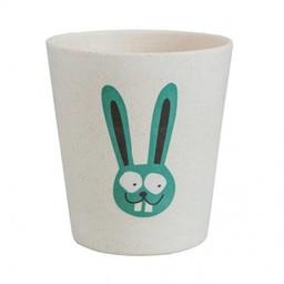 Jack&Jill Verre de Salle de Bain Biodégradable Lapin/Biodegradable Rinse Cup Bunny