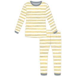 Coccoli Coccoli - Pyjama 2 Pièces/2 Pieces Pajamas, Citron Fleurs/Lemon Floral