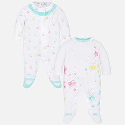 Mayoral Mayoral - Ensemble de 2 Pyjamas Longs/Set of 2 Long Pajamas, Eau/Water