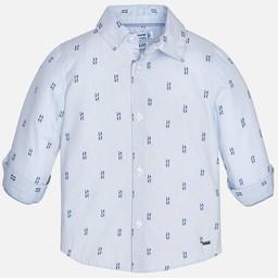 Mayoral Mayoral - Chemise Imprimée/Printes Shirt, Ciel/Sky