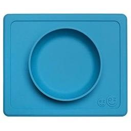 Ezpz EZPZ- Napperon et Bol Tout-en-un Mini Bowl/Mini Bowl All-in-one Placemat and Bowl by Ezpz, Bleu/Blue