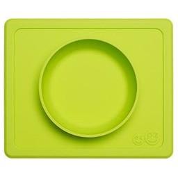 Ezpz Copy of EZPZ- Napperon et Bol Tout-en-un Mini Bowl/Mini Bowl All-in-one Placemat and Bowl by Ezpz, Corail/Coral