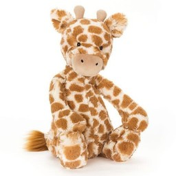 "Jellycat Jellycat - Girafe Bashful 12""/Bashful Giraffe 12"""