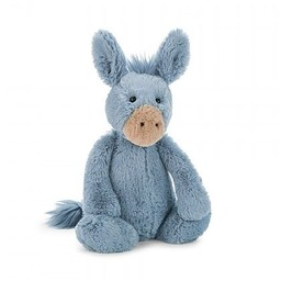 """Jellycat Jellycat - Âne Bashfull 7""""/Bashful Donkey 7"""""""