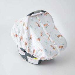 Little Unicorn Little Unicorn - Abri pour Siège de Voiture/Car Seat Canopy, Renard/Fox