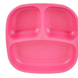 Re-Play Re-Play - Assiette à Compartiments/Divided Plates, Rose Fille/Bright Girly Pink