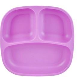 Re-Play Re-Play - Assiette à Compartiments/Divided Plates, Mauve/Purple