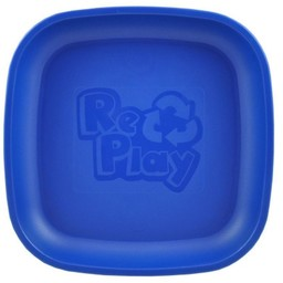 Re-Play Copy of Re-Play - Assiette de Plastique/Plastic Plate, Rose Fille/Bright Girly Pink