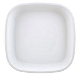 Re-Play Re-Play - Assiette de Plastique/Plastic Plate, Blanc/White