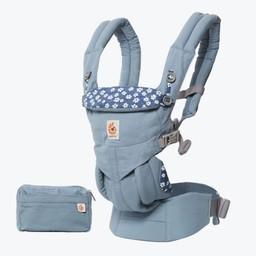 Ergobaby Ergobaby Omni - Porte-Bébé/Baby Carrier, Bleu Daisies/Daisies Blue