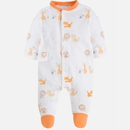 Mayoral Mayoral - Pyjama Animaux de la Jungle/Footies Jungle Animals, Orange