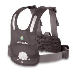 Little Life Little Life - Harnais de Sécurité/Safety Harness, Gris/Grey 1-3 Ans