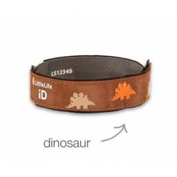 Little Life Little Life - Bracelet de Sécurité avec Identité/Safety ID-Strap, Dinosaure/Dinosaur