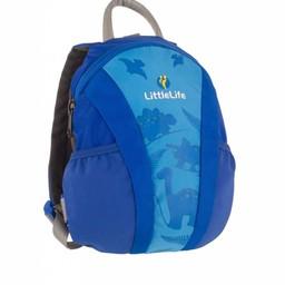 Little Life Little Life - Sac à Dos avec Sangle de Sécurité/Daysack With Rein, Bleu/Blue