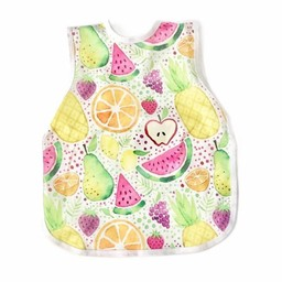 Bapron Baby Bapron Baby - Bavoir Sans Manche/Bib Without Sleeve, Fruits en Fête/Fruit Party