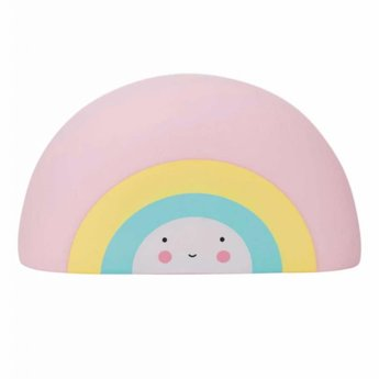 A Little Lovely Company A Little Lovely Company - Jouet de Bain Arc-en-Ciel/Rainbow Bath Toy