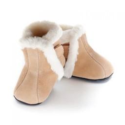 Jack & Lily Jack & Lily - Mocassin Botillons/My Moc Boots, Gabriel, Suède Beige/Beige Suede