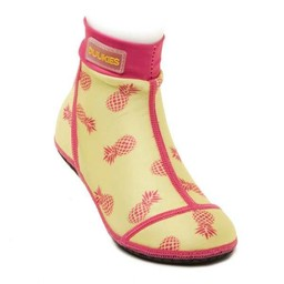 Duukies Duukies - Bas de Plage/Beachsocks, Ananas/Pineapple, Jaune et Rose/Yellow Rose
