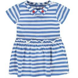 Tumble n Dry Tumble N'Dry - Robe Phara/Phara Dress, Rayé Bleu/Blue Stripes